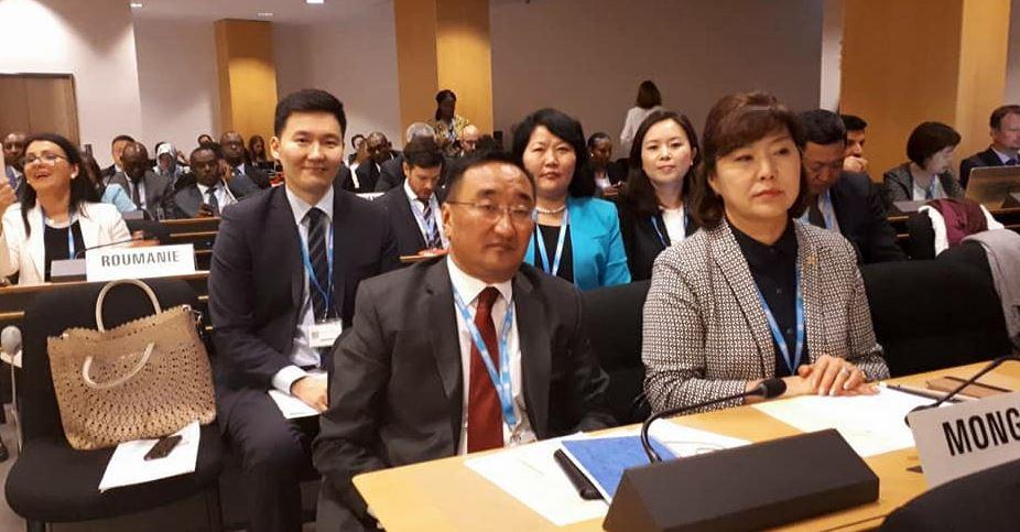ЭМ-ийн сайд  Дэлхийн эрүүл мэндийн ассамблейн 71 дүгээр чуулганд оролцож байна