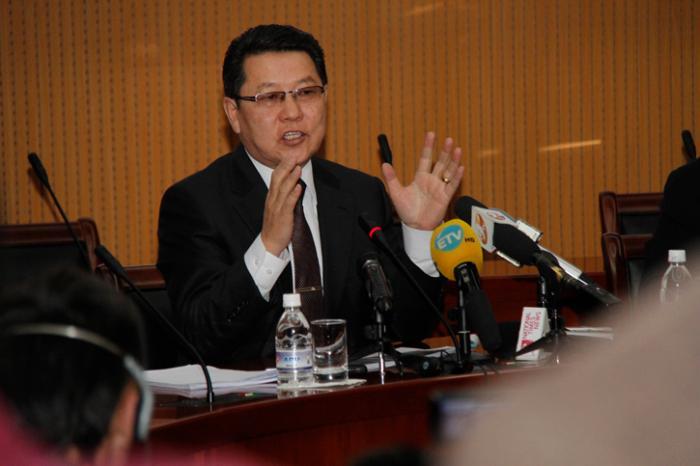 """Ч.УЛААН: """"Оюутолгой"""" төслийг Монголын талд үр өгөөжтэй байлгахын төлөө ажиллана"""