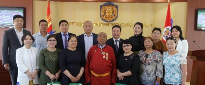 """""""Эко дүүрэг""""-т Хэнтий  аймгийн Баянхутаг сумын төлөөлөгчид зочиллоо"""