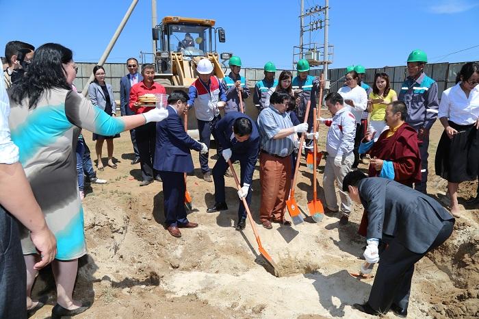 Хан-Уул дүүргийн Өлзийт хороололд 240 хүүхдийн цэцэрлэгийн барилгын ажил эхэллээ