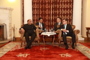 НҮБ-ын хурал Шинэ Делигээс Улаанбаатарт буухиалсанд Шадар сайдад баяр хүргэлээ