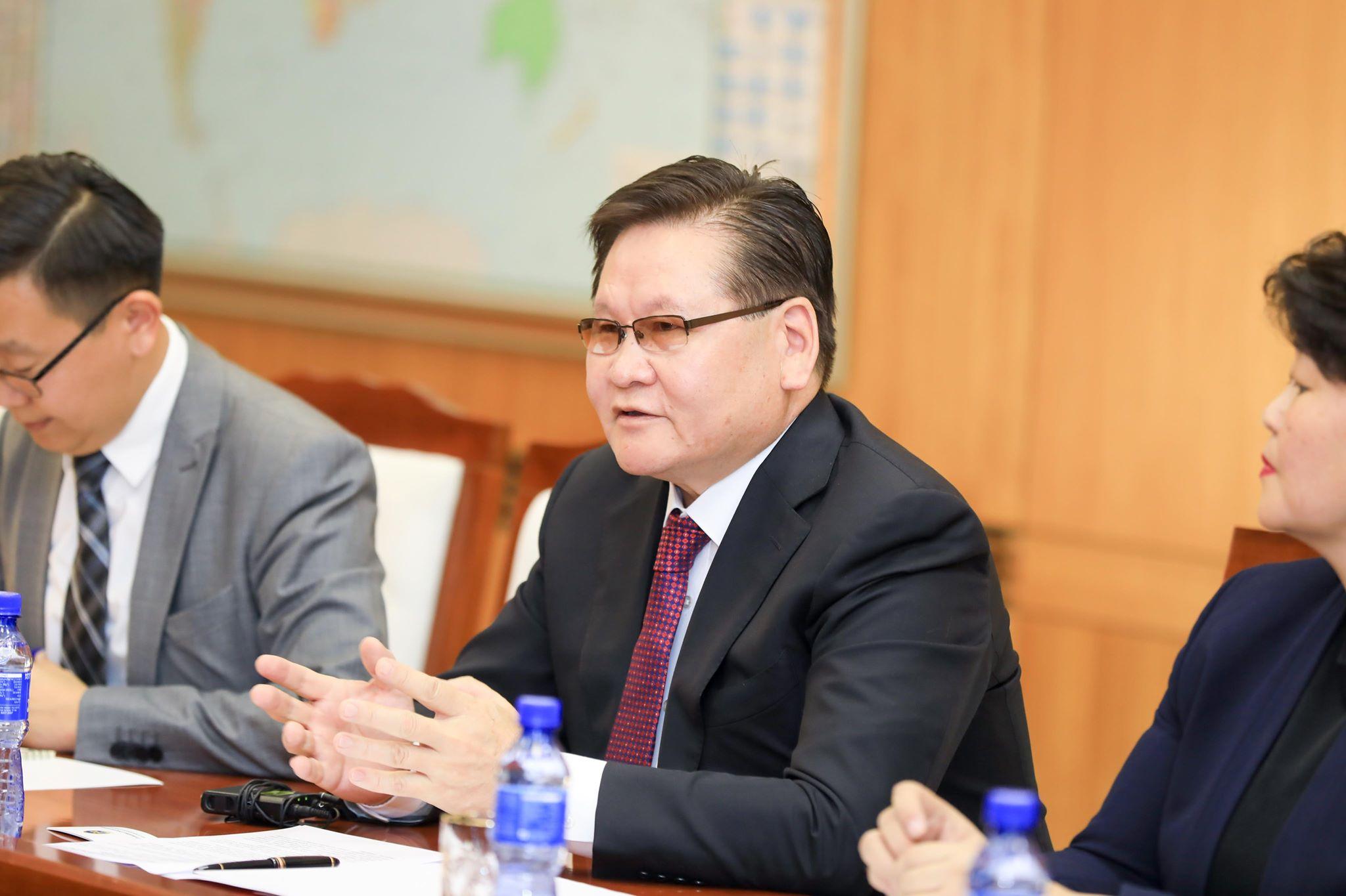НҮБ-ын Ерөнхий нарийн бичгийн даргын төлөөлөгчтэй уулзлаа
