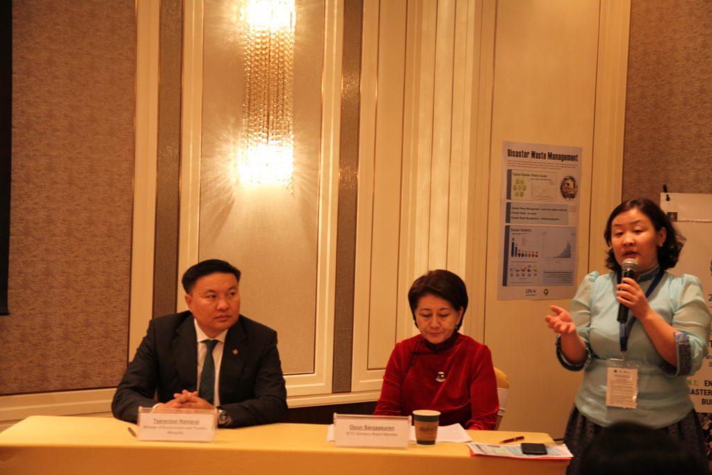 Гамшгийн эрсдлийг бууруулах Азийн сайд нарын бага хуралд 42 орны төлөөллүүд оролцлоо