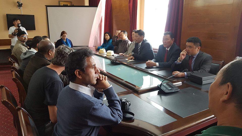 ЮНЕСКО-гийн төлөөлөгчидтэй уулзжээ