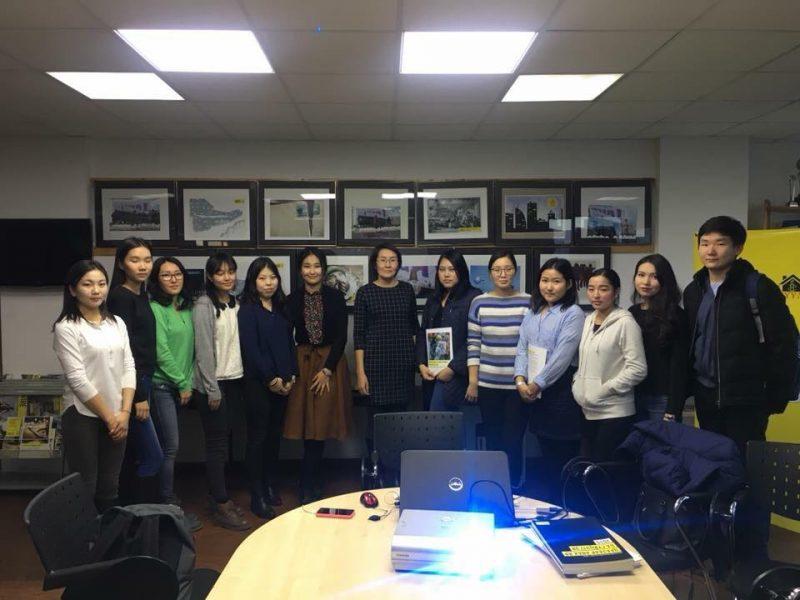 Монголын Эмнести Интернэшнл ТББ-ын үйл ажиллагаатай ОУХНУС-ийн оюутнууд танилцлаа