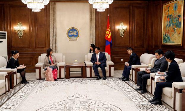Бангладеш Улс дахь Монгол Улсын өргөмжит консул Насреен Фатема Ауалыг хүлээн авч уулзлаа