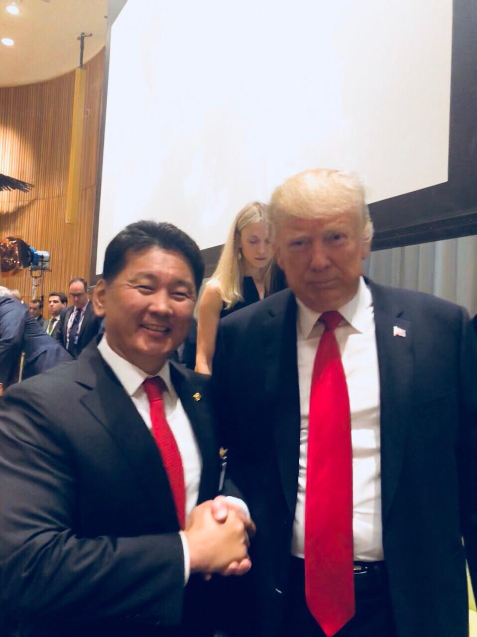 """Еранхий сайд У.Хүрэлсүх """"Хар тамхины асуудалтай тэмцах дэлхийн уриалга"""" -д Монгол улс нэгдэж байгааг илэрхийллээ"""