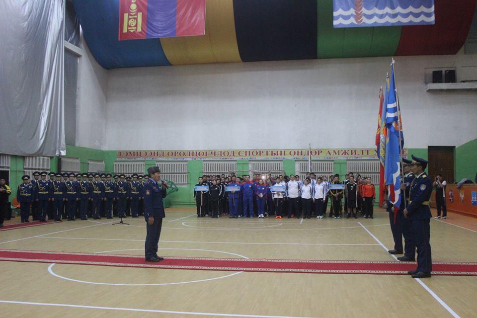 Онцгой байдлын байгууллагын аварга шалгаруулах 2018 оны спортын тэмцээн Сэлэнгэ аймагт эхэллээ