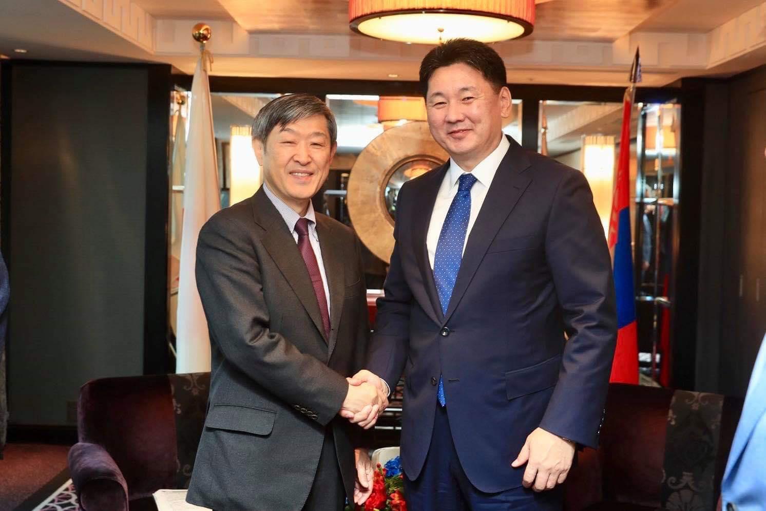 Монгол Улс, Япон Улсын Стратегийн түншлэлийн дунд хугацааны хөтөлбөрийн хэрэгжилтийн явцыг танилцуулав
