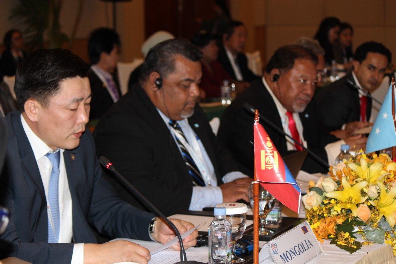 Ази, Номхон далайн орнуудын парламентын чуулганы 27 дугаар хуралдаанаар 14 тогтоол, Сиэм Рэпийн тунхаглалыг батлан гаргалаа