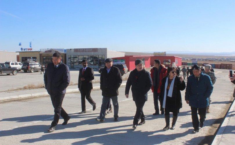 Монгол Улсын Шадар сайд Ө.Энхтүвшин Сэлэнгэ аймагт ажиллав