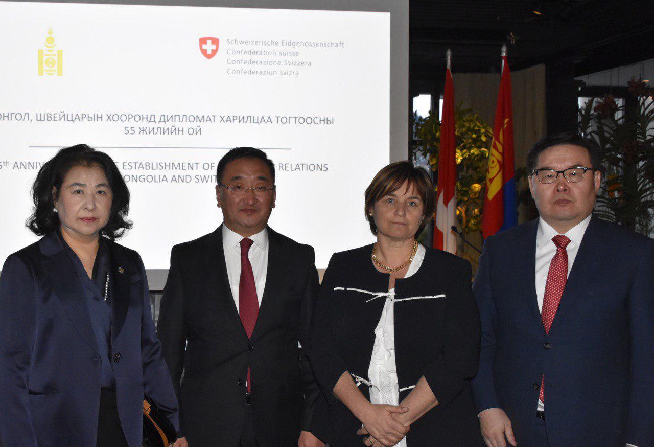 УИХ-ын дарга Монгол-Швейцарийн хооронд дипломат харилцаа тогтоосны 55 жилийн ойн арга хэмжээнд оролцов