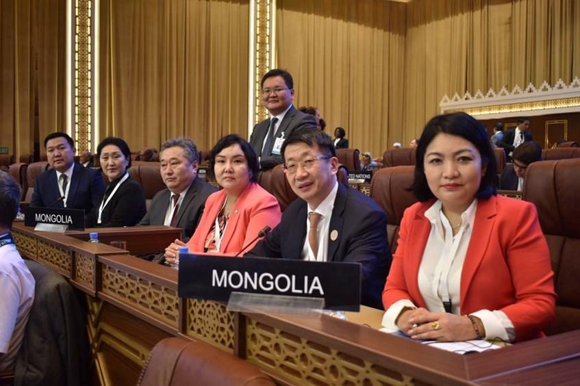 Монголын парламентын төлөөлөгчид ОУПХ-ны Ассамблейн 140 дүгээр чуулганд оролцож байна