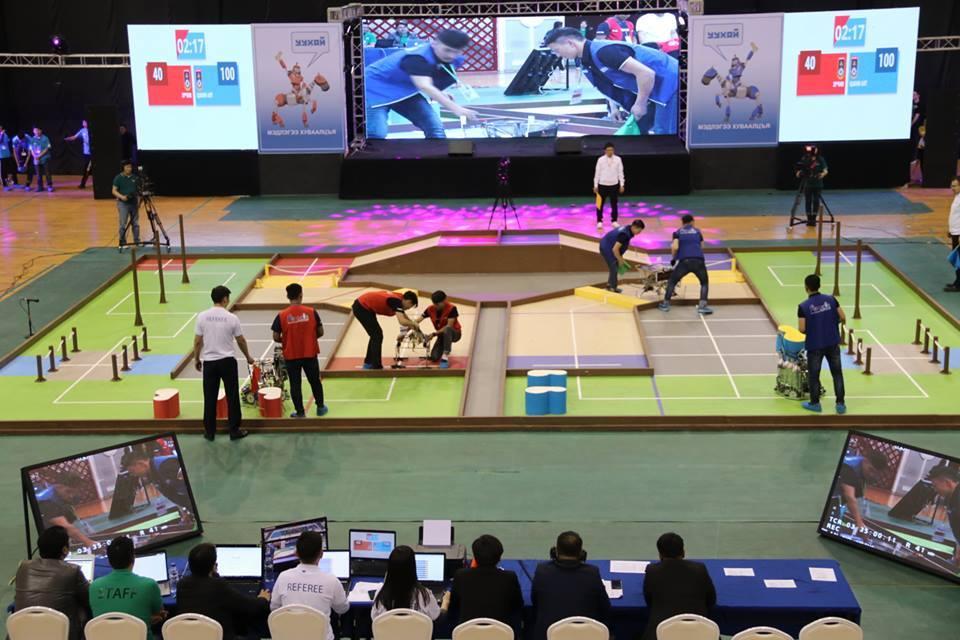 """Нутагтаа """"ABU Робокон"""" олон улсын роботын тэмцээнд оролцох үндэсний багууд тодорлоо"""
