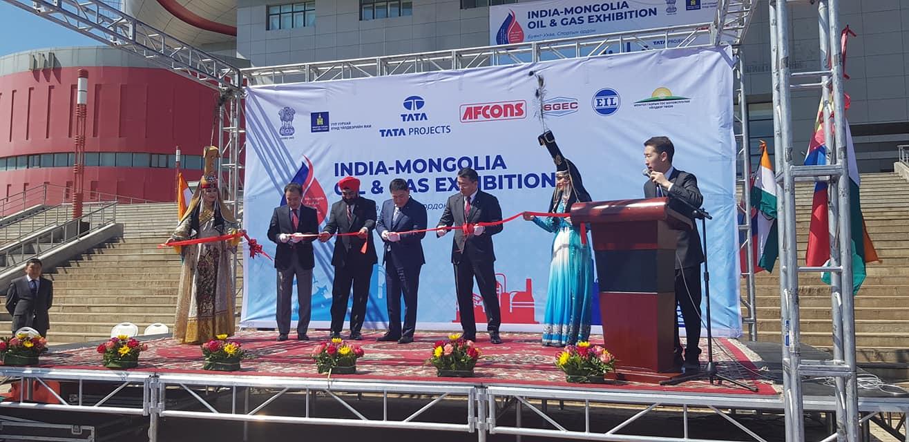 Энэтхэгийн газрын тос, байгалийн хийн технологи, тоног төхөөрөмжийн үзэсгэлэн өнөөдөр нээлтээ хийлээ