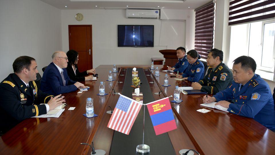 АНУ-аас Монгол Улсад суугаа Элчин сайд ноён Майкл С.Клеческийг хүлээн авч уулзлаа