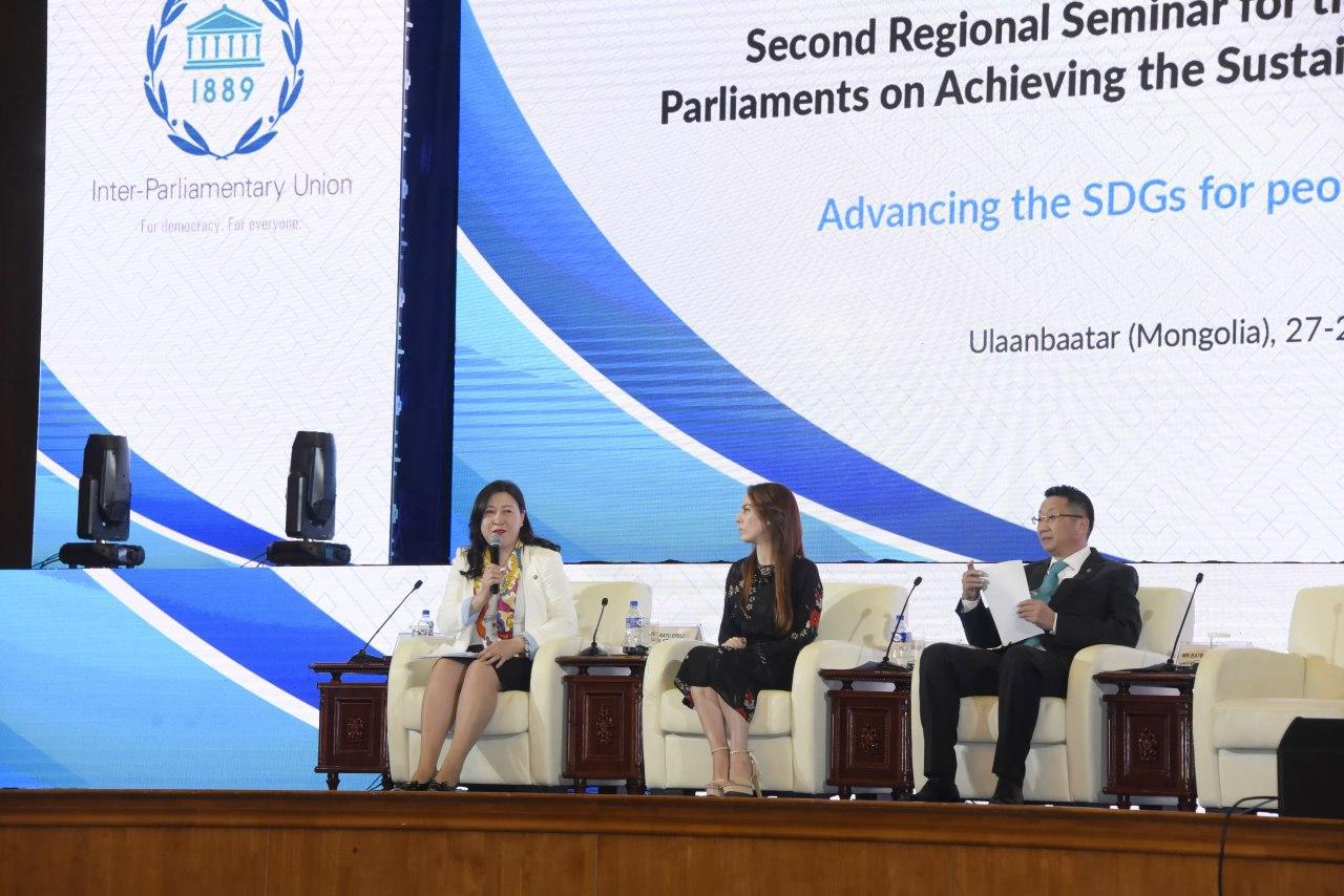Олон Улсын Парламентын Холбооны Ази, Номхон далайн бүсийн хоёрдугаар чуулган амжилттай өндөрлөлөө