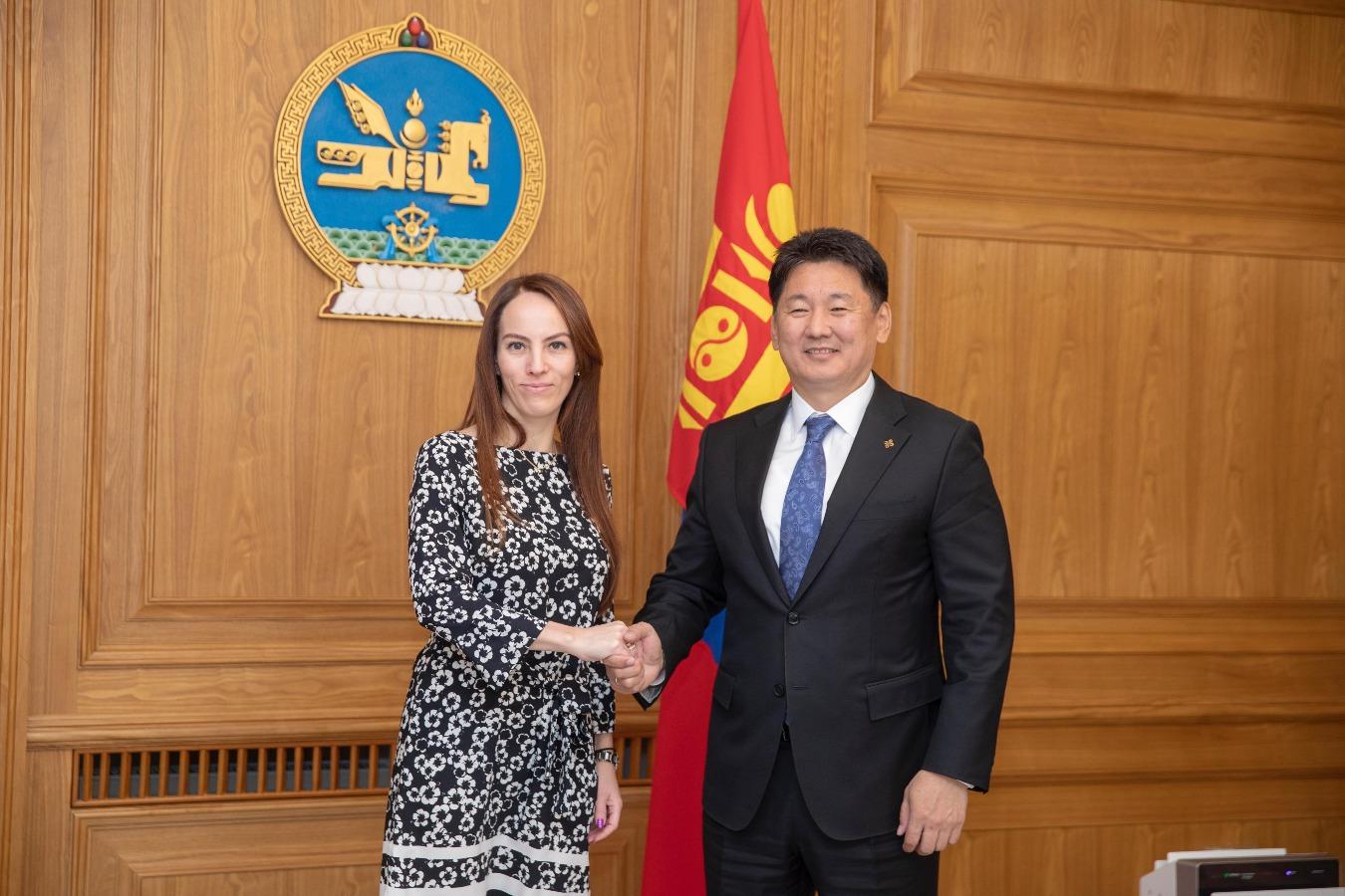 Монгол Улсын Ерөнхий сайд У.Хүрэлсүх ОУПХ-ны Ерөнхийлөгчийг хүлээн авч уулзав