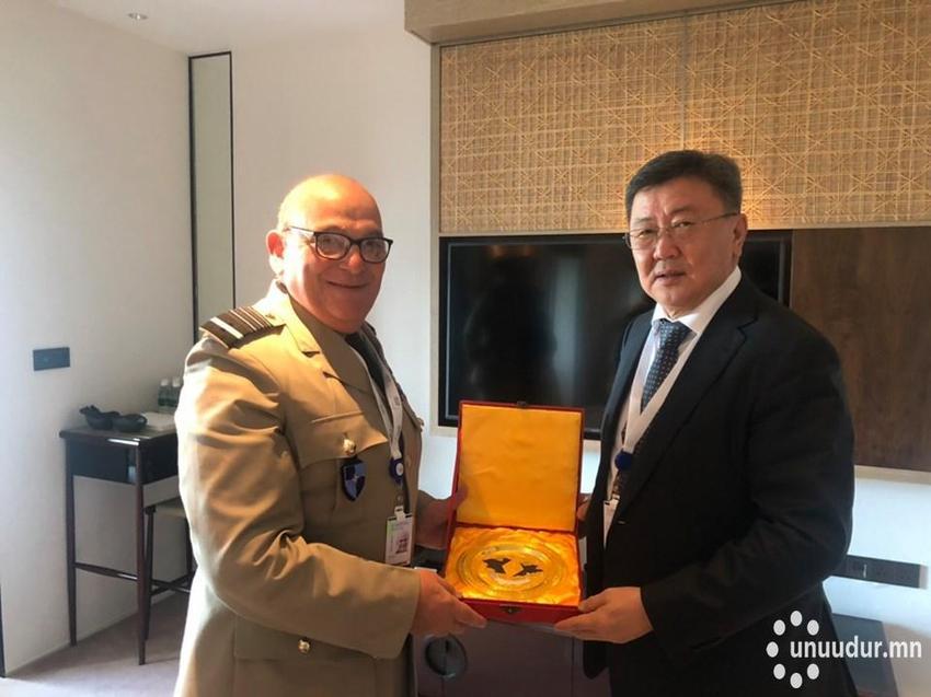 Бүс нутгийн аюулгүй байдлын талаар Монгол Улсын баримталж буй бодлогыг танилцуулжээ