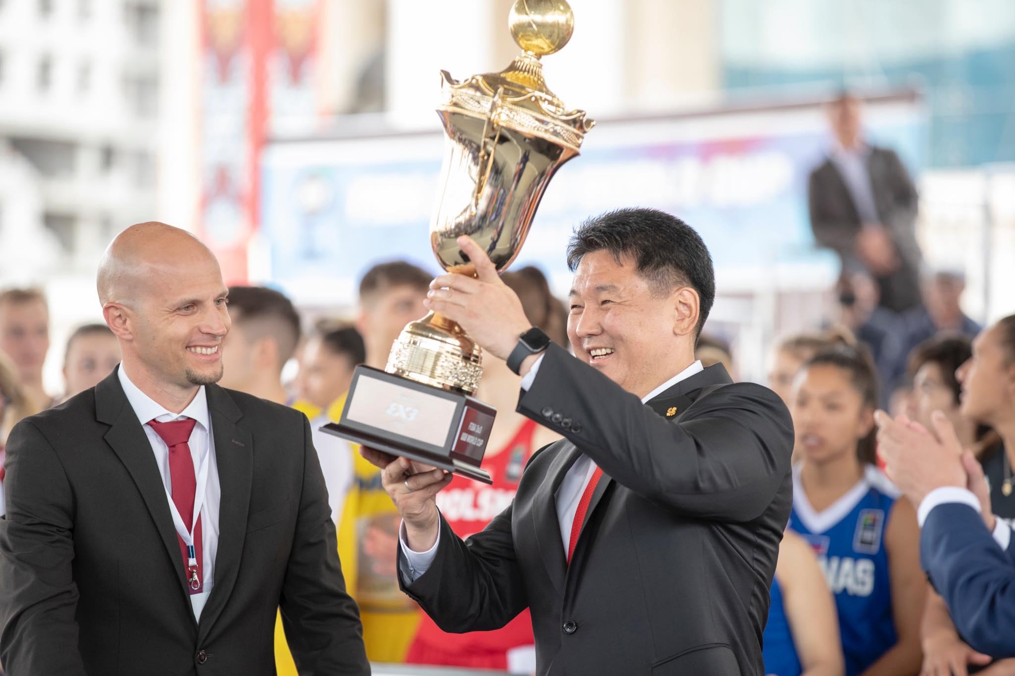 FIBA 3х3 сагсан бөмбөгийн Дэлхийн аварга шалгаруулах тэмцээн эхэллээ