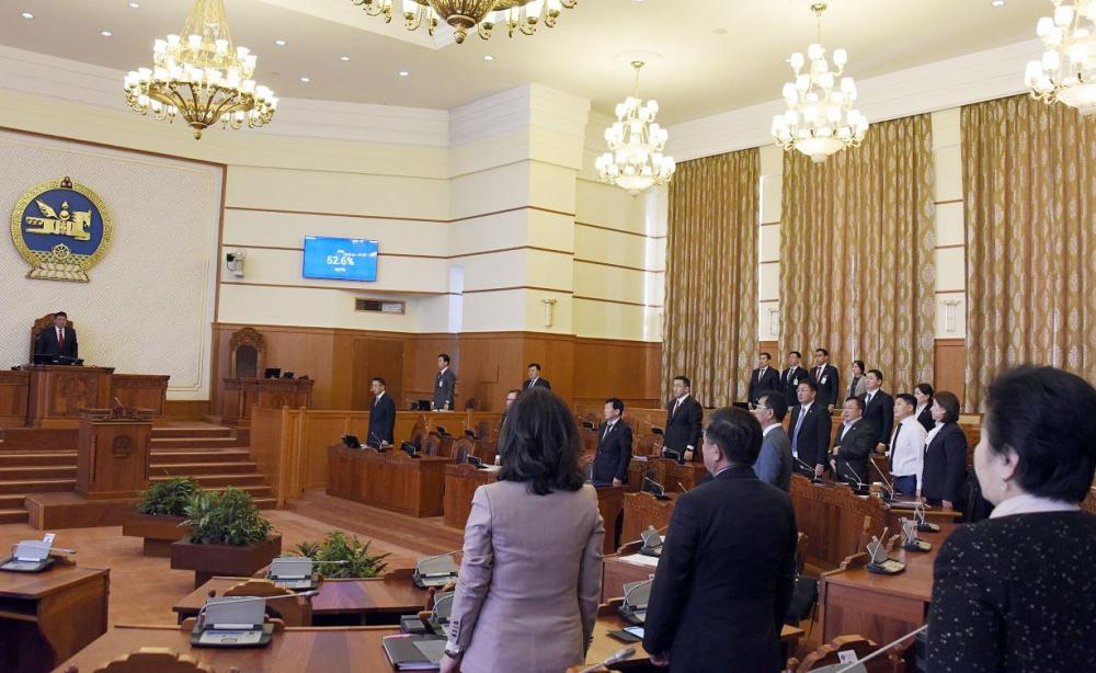 Монгол Улсын Их Хурлын чуулганы хуралдааны дэгийн тухай хуулийн анхны хэлэлцүүлгийг хийв