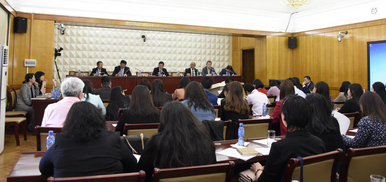 Монгол Улсын Үндсэн хуульд оруулах нэмэлт, өөрчлөлтийн төслийг сэтгүүлчдэд танилцуулав