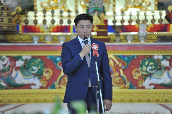 БСШУС-ын сайд Ё.Баатарбилэг Азийн буддистуудын энх тайвны бага хурлын нээлтэд оролцлоо