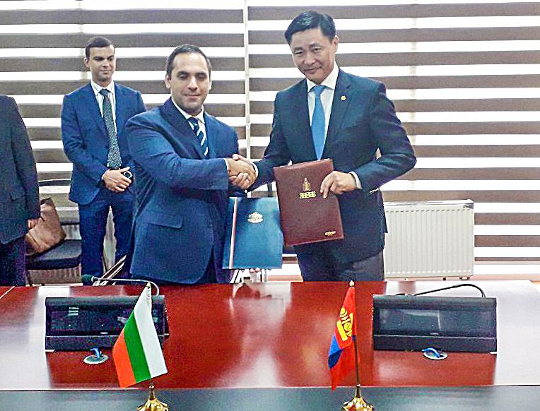 Монгол, Болгарын Засгийн газар хоорондын комиссын 7 дугаар хуралдаан болж өндөрлөлөө