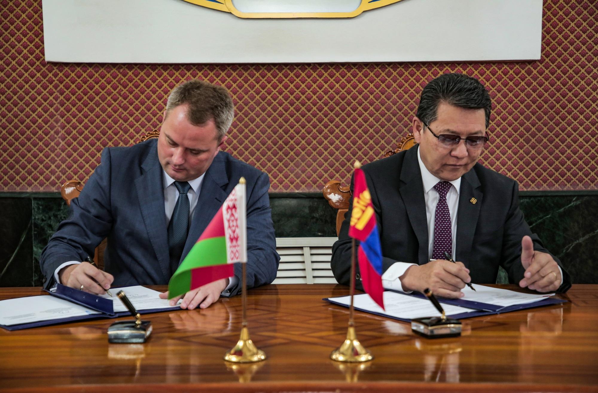 Монгол, Беларусийн Засгийн газар хоорондын комиссын V хуралдаан боллоо