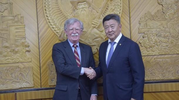 АНУ-ын Ерөнхийлөгчийн Үндэсний аюулгүй байдлын зөвлөх Жон Болтонг хүлээн авч уулзлаа