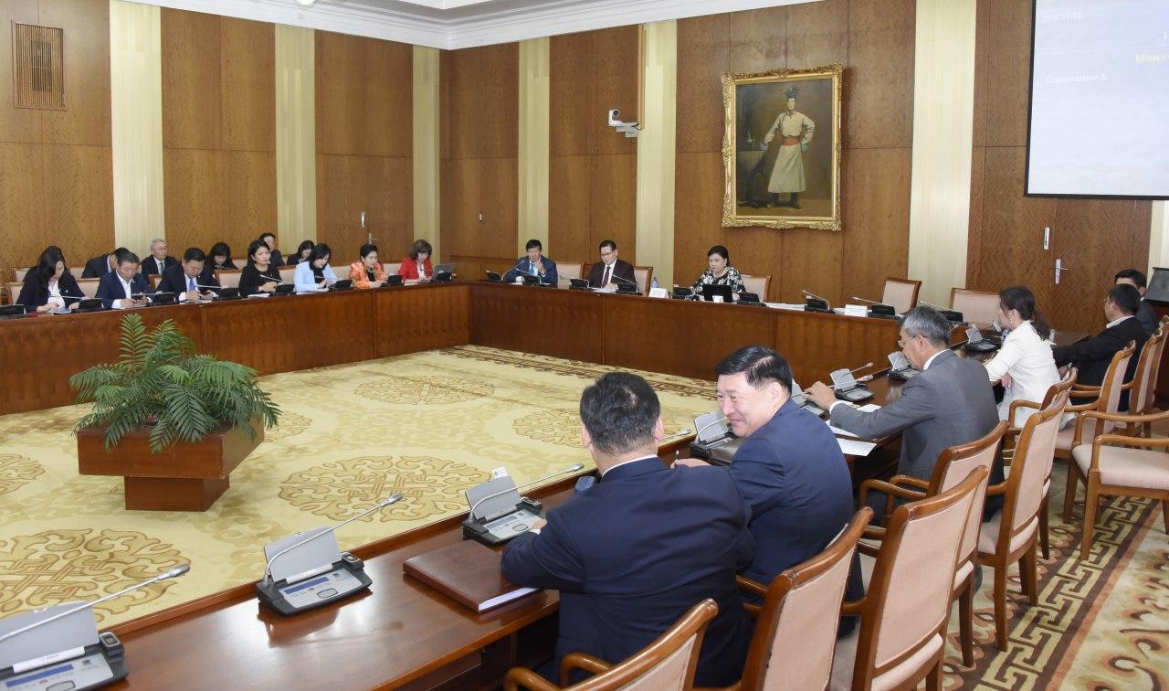 НББСШУБХ: Монгол Улсын Үндсэн хуульд оруулах нэмэлт, өөрчлөлтийн төслийн хоёр дахь хэлэлцүүлгийг хийлээ