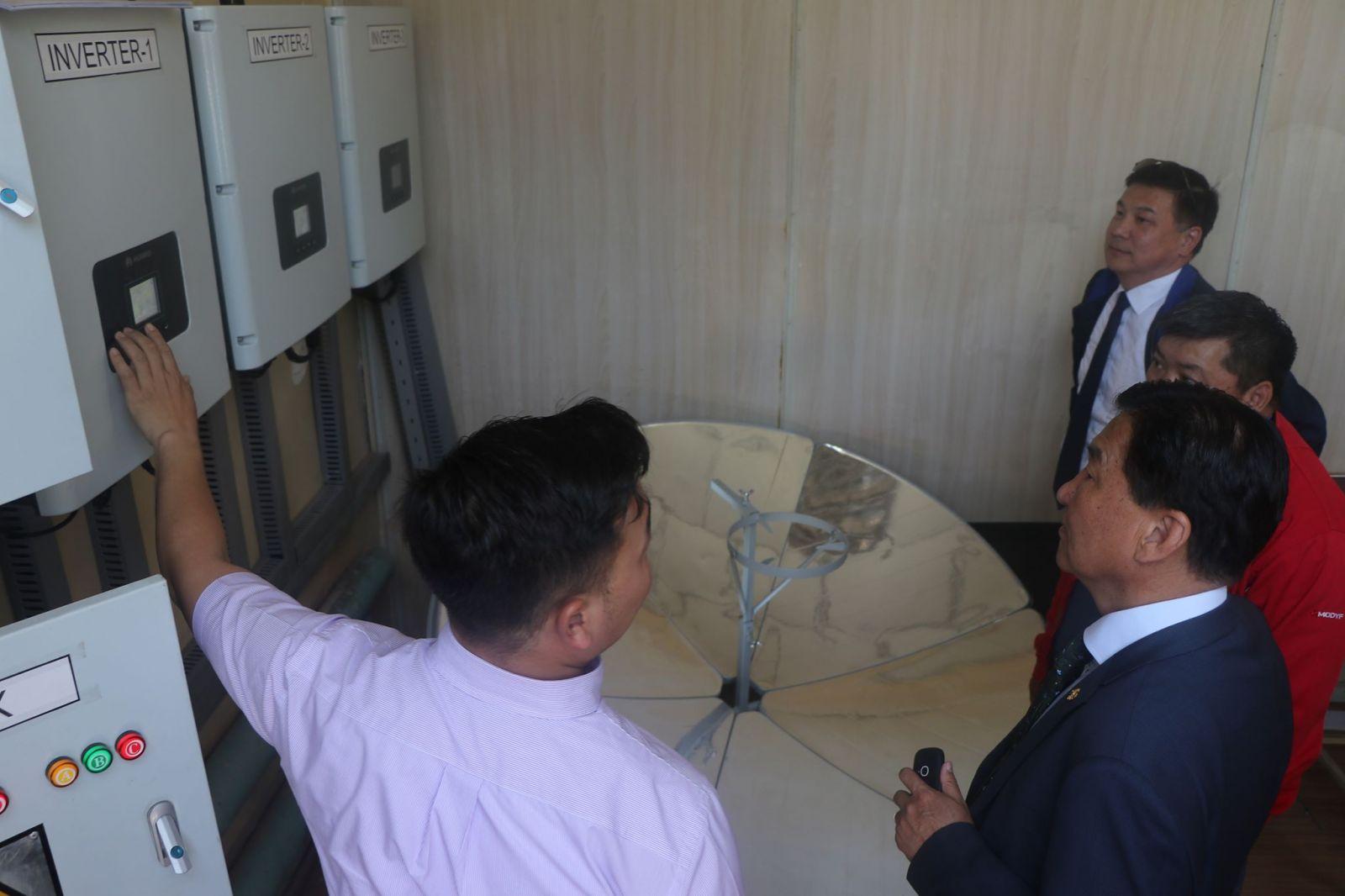Сэргээгдэх эрчим хүчний үндэсний төв ТӨААҮГ-ын үйл ажиллагаатай танилцлаа