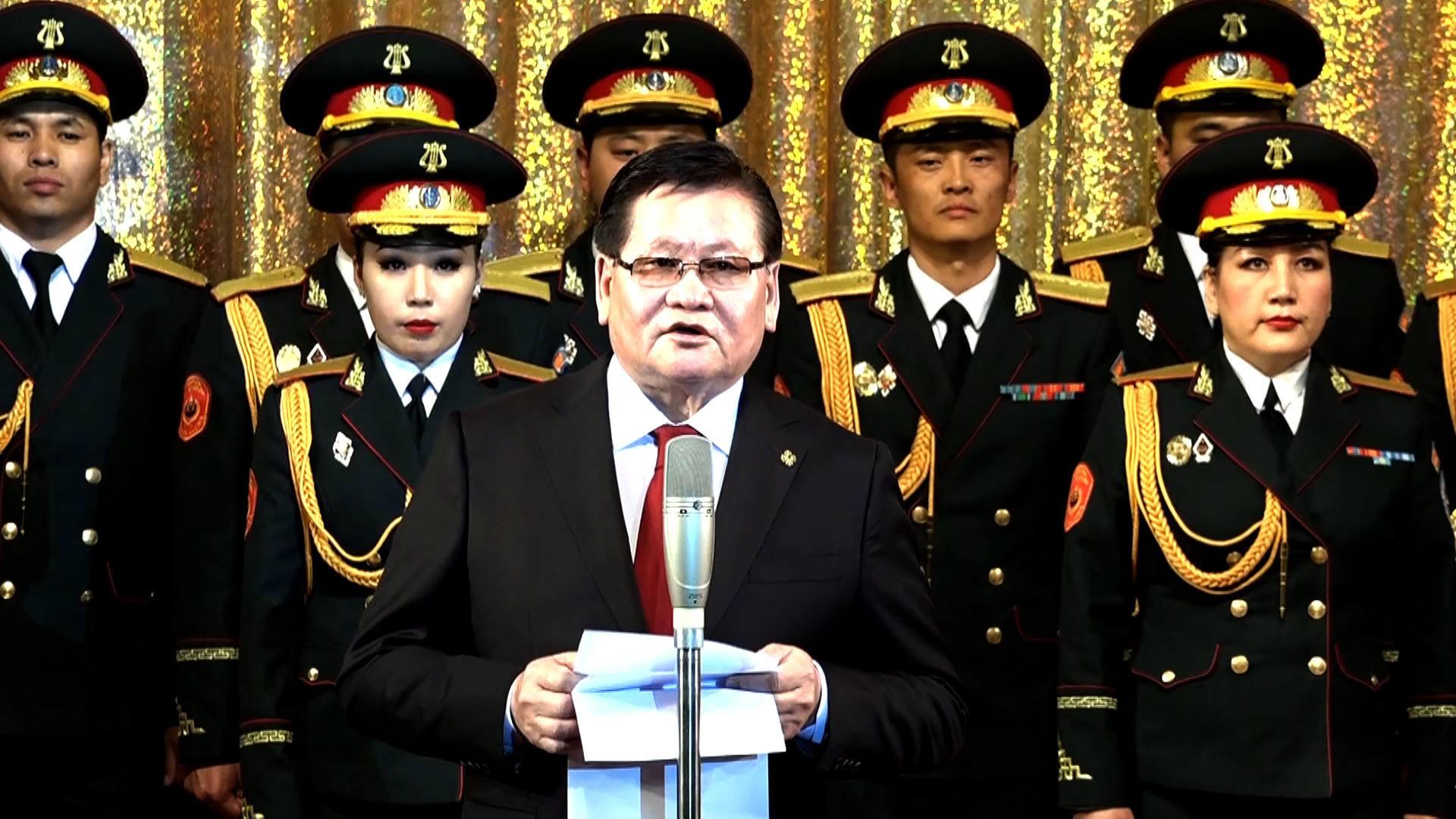 Монгол Улсын Шадар сайд Ө.Энхтүвшин Төрийн хүндэтгэлийн концертыг нээж үг хэллээ
