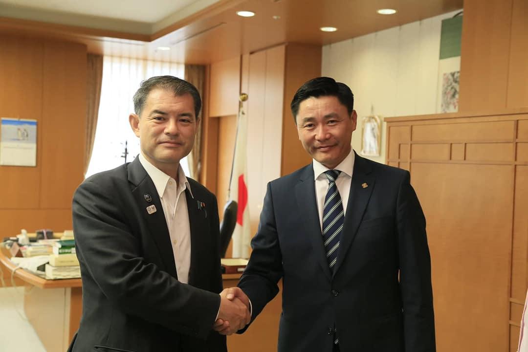 NHK Tower-т Монгол Улсын Морин хуурын чуулгыг тоглуулах талаар ярилцжээ