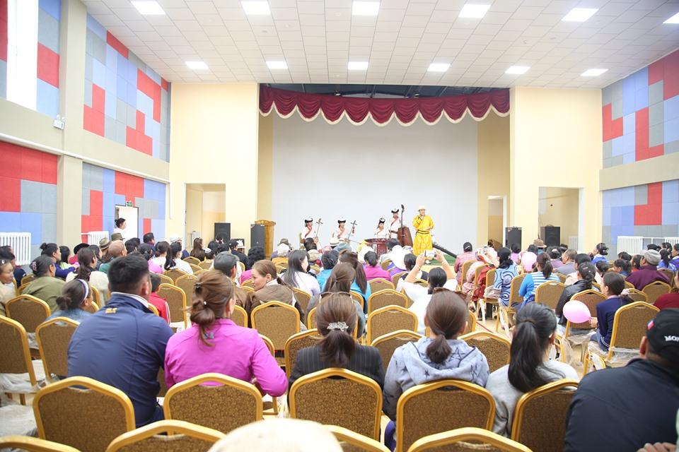 Өвөрхангай аймгийн Бүрд сум шинэ соёлын төвтэй боллоо