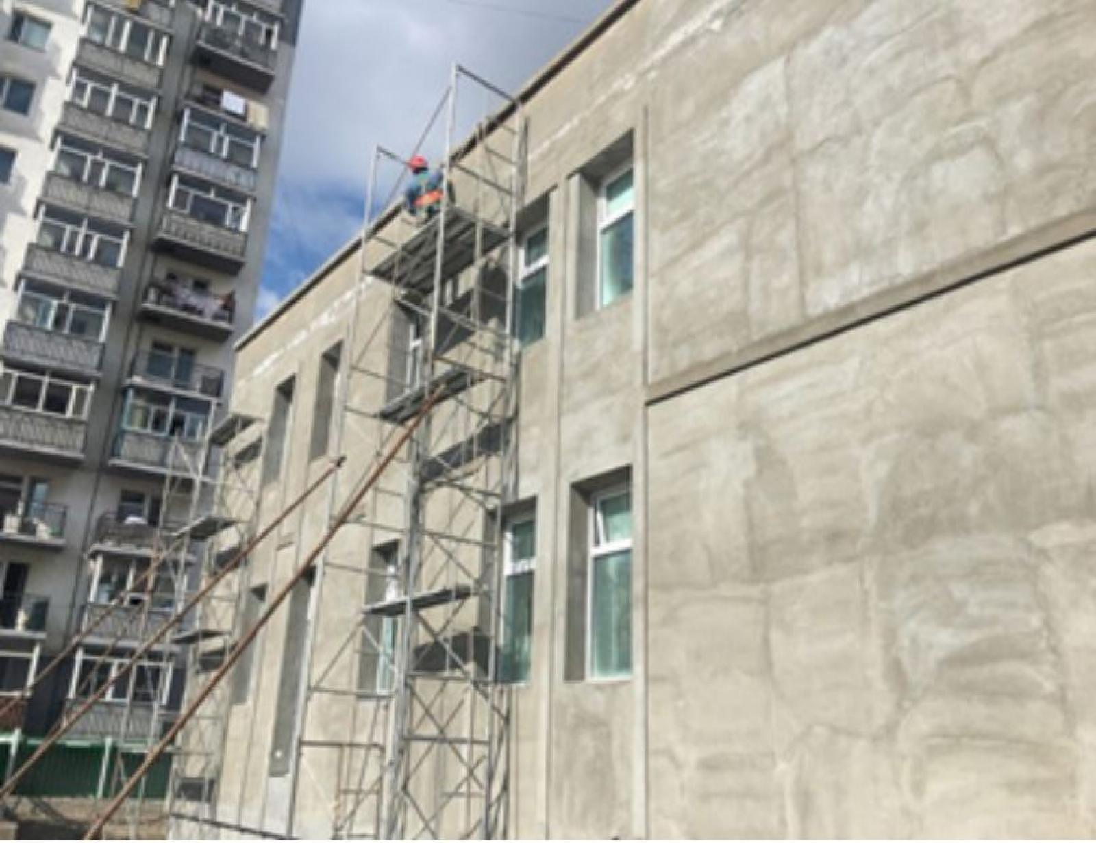 Сүхбаатар дүүргийн X хорооны 24 дүгээр цэцэрлэгийн барилгын явц 98 хувьтай байна
