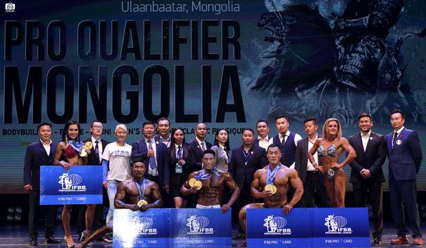 Монголд анх удаа мэргэжлийн эрх олгох бодибилдингийн олон улсын тэмцээн амжилттай зохиогдлоо