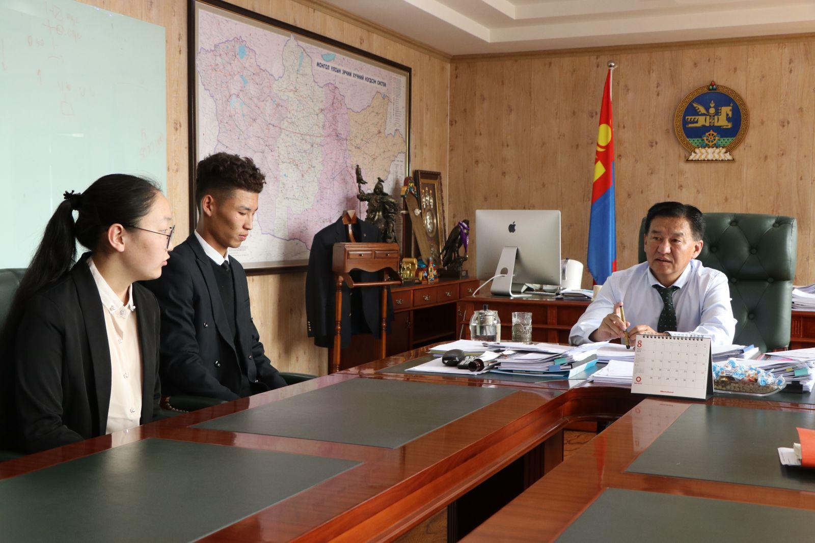 Бүгд Найрамдах Азербайжан Улсын Газрын тос, үйлдвэрлэлийн их сургуульд Монгол оюутнууд суралцана