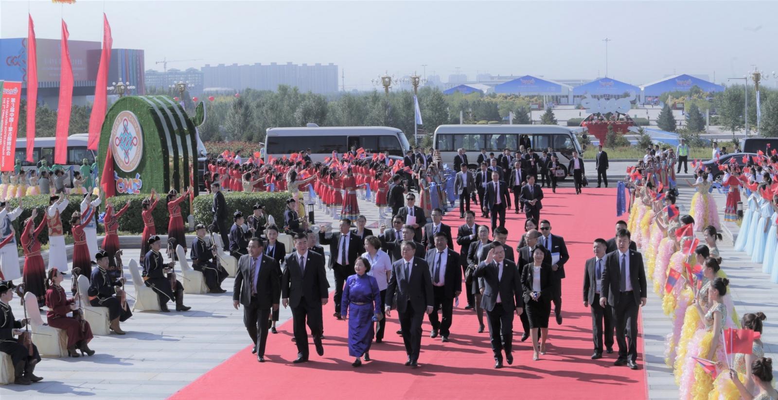 """""""Монгол-Хятадын экспо""""  Улаанцав хотноо эхэллээ"""