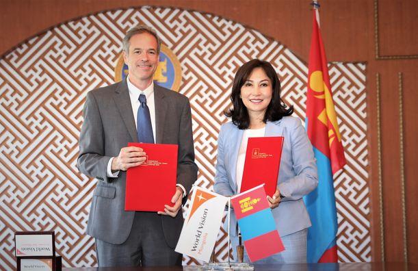 Дэлхийн Зөн Монгол ОУБ-тай хүүхэд хамгааллын чиглэлээр хамтран ажиллах санамж бичиг байгууллаа