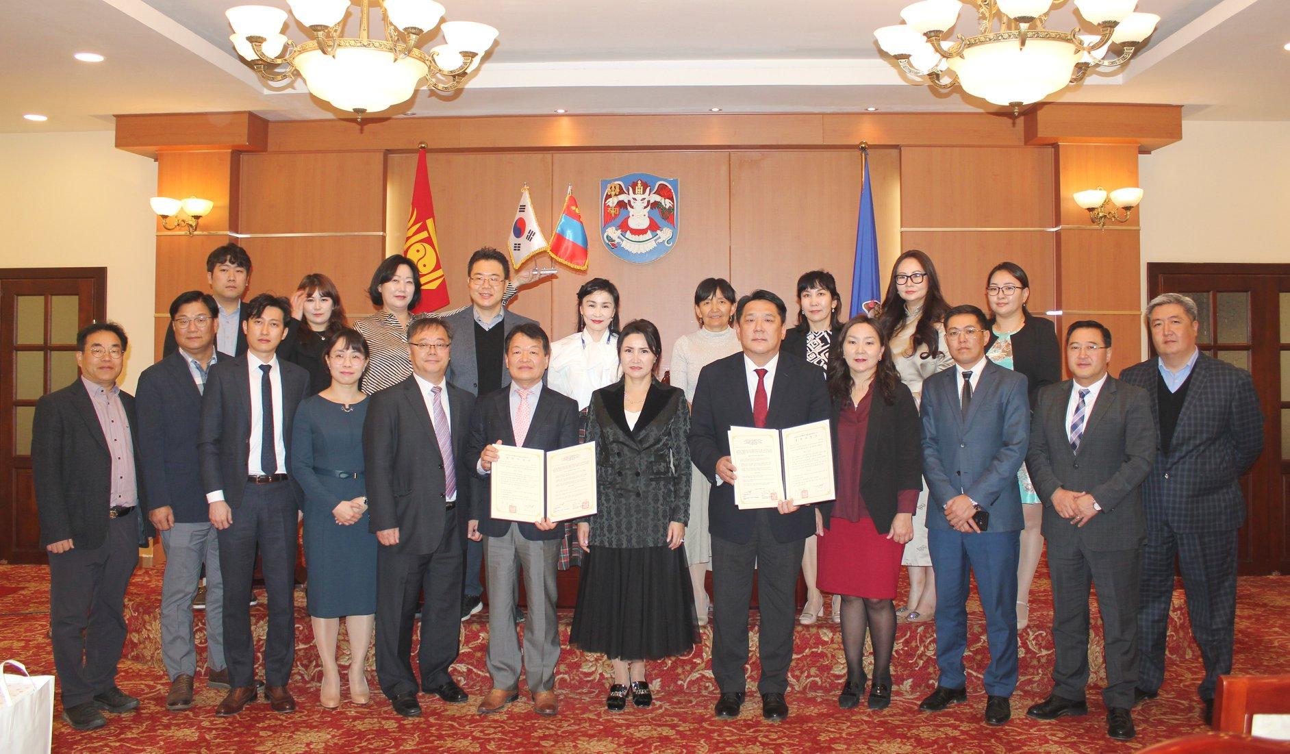 БНСУ-ын Хойд Чүнчон мужийн эрүүл мэнд, нийгмийн хамгааллын газартай хамтран ажиллахаар боллоо