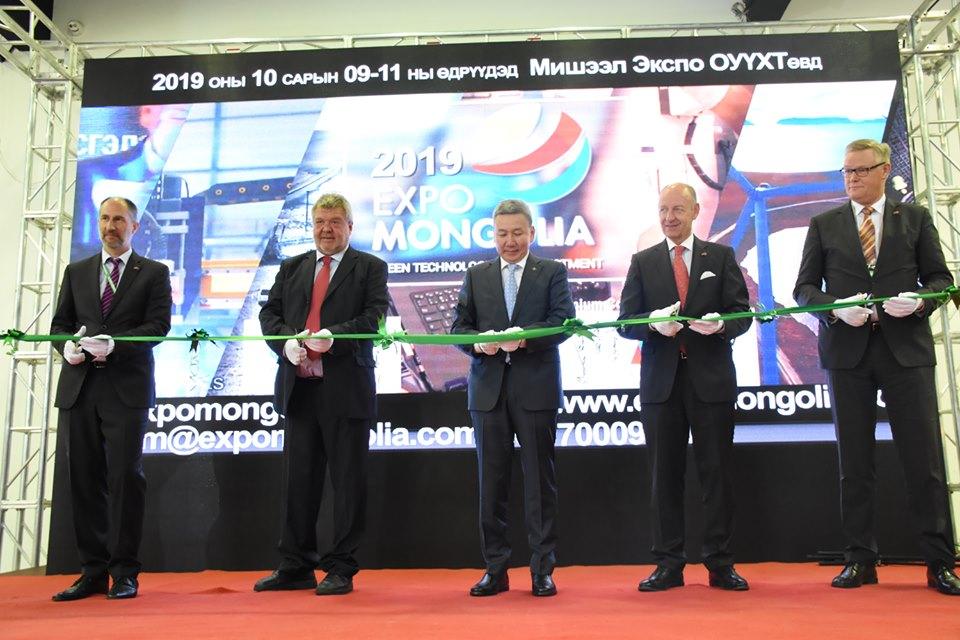 """""""Expo Mongolia"""" олон улсын үзэсгэлэн, бага хурлын нээлтийн ажиллагаанд үг хэлэв"""
