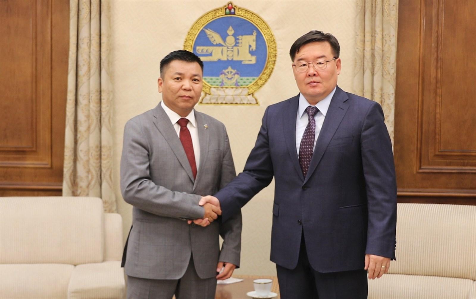 Монгол Улсын Их Хурлын тогтоолд өөрчлөлт оруулах тухай тогтоолын төсөл өргөн барилаа