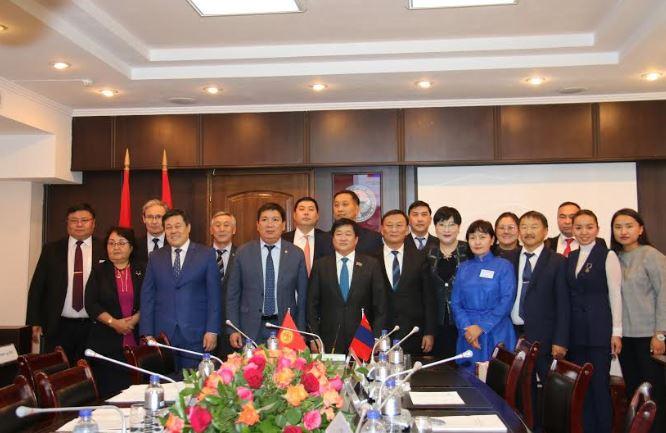 Монгол, Киргизийн ЗГХК-ын 3 дугаар хуралдаан болов