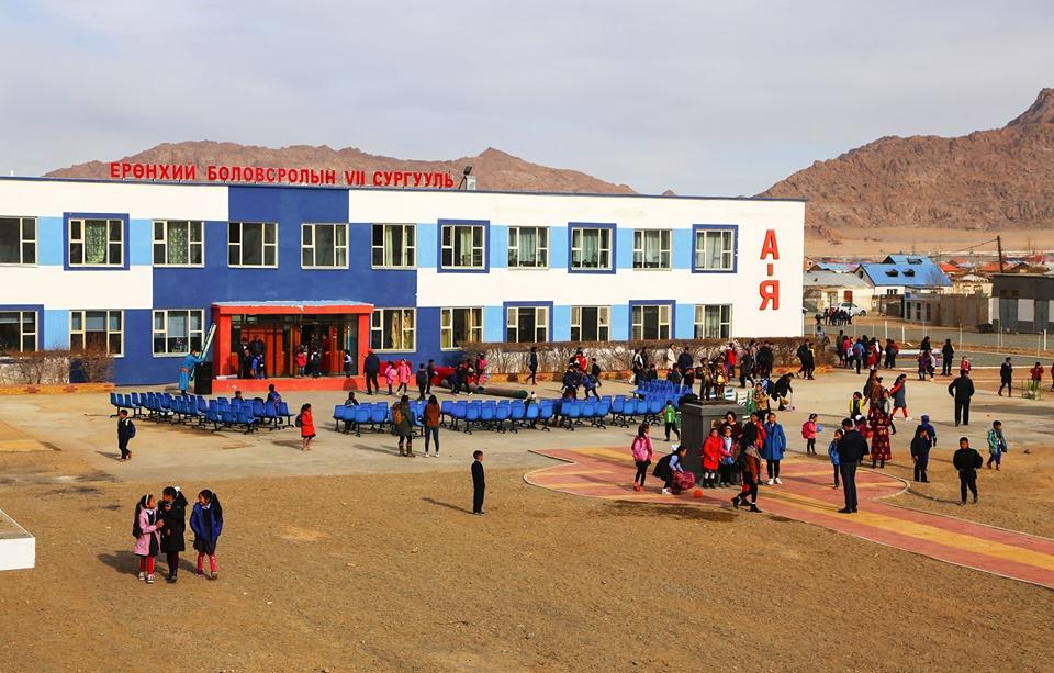 Жаргалант суманд 100 хүүхдийн дотуур байр, урлаг заалны шинэ барилга ашиглалтад орлоо