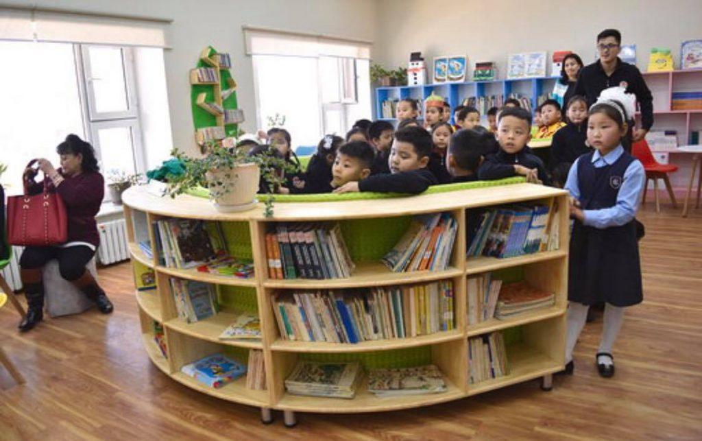 Нацагдоржийн номын сангийн Хүүхдийн уншлагын танхимыг жишиг болгон тохижууллаа