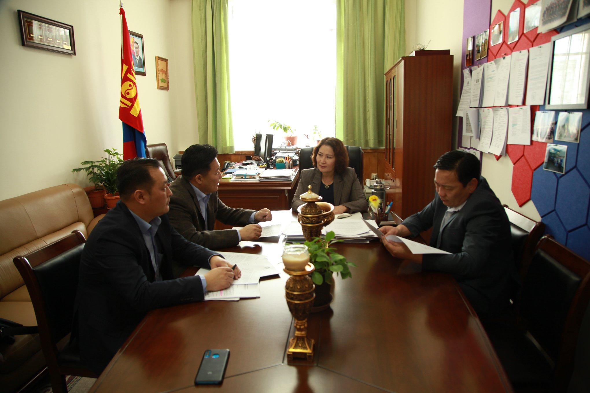 Монгол улсын Ерөнхийлөгчийн тамгын газраас МҮЭ-ийн холбооны удирдлагуудыг хүлээн авч уулзлаа