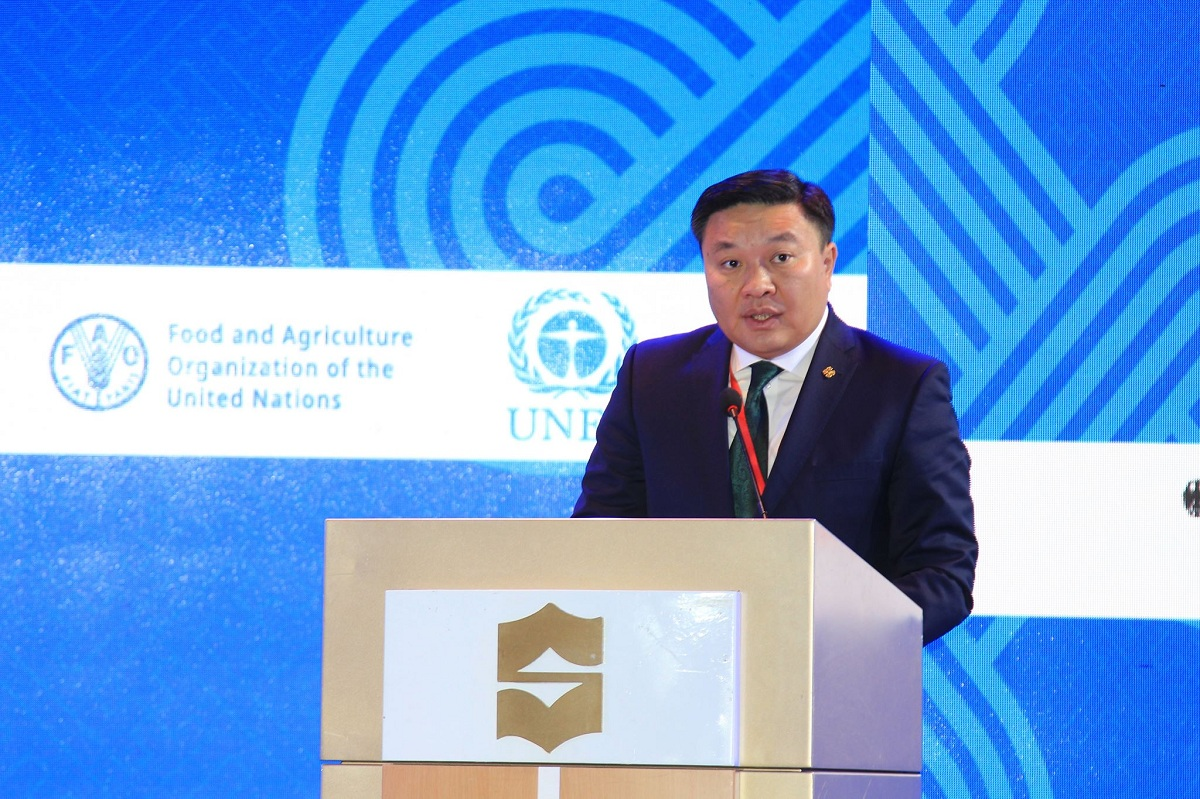 Н.Цэрэнбат: Монгол Улс хүлэмжийн хийн ялгарлыг 14 хувиар бууруулах зорилтоо ахиулан 22.7 болголоо