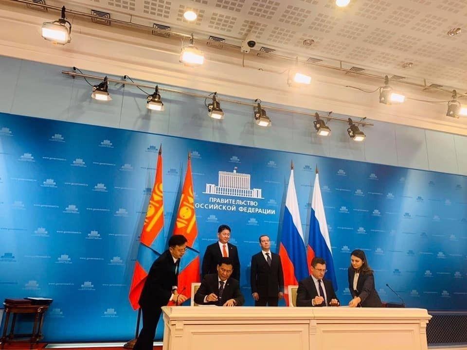 ОХУ-ын Засгийн газар, Монгол Улсын Засгийн газар Эрчим хүчний салбарт хамтран ажиллана