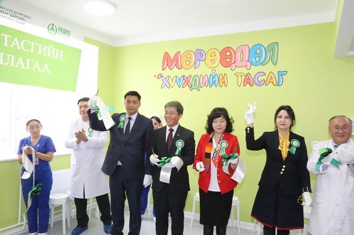 Хан-Уул дүүргийн Нэгдсэн эмнэлгийн 30 ортой хүүхдийн тасаг ашиглалтанд орлоо